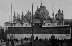 Basilica San Marco durante prima guerra mondiale