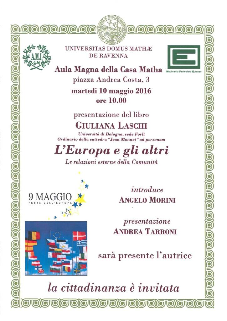 Vol. L'EUROPA E GLI ALTRI, 10.05.2016
