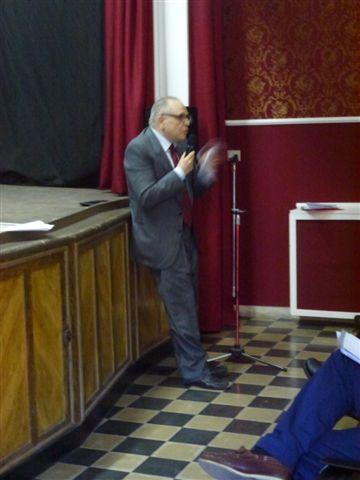 Giovanni Ottaviano alla conferenza