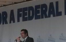 Michele Finelli Vice Presidente A.M.I. Interviene alla Marcia per L'Europa Roma 25 marzo 2017