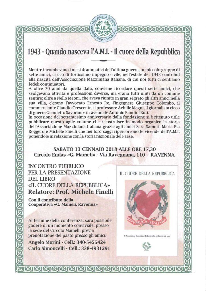 Vol. 1943 IL CUORE DELLA REPUBBLICA