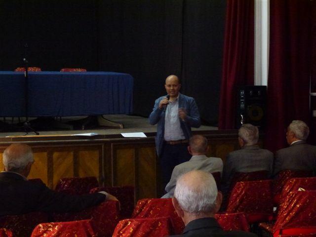 Luca Platania alla conferenza